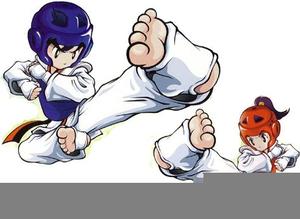 Clipart Taekwondo Itf.