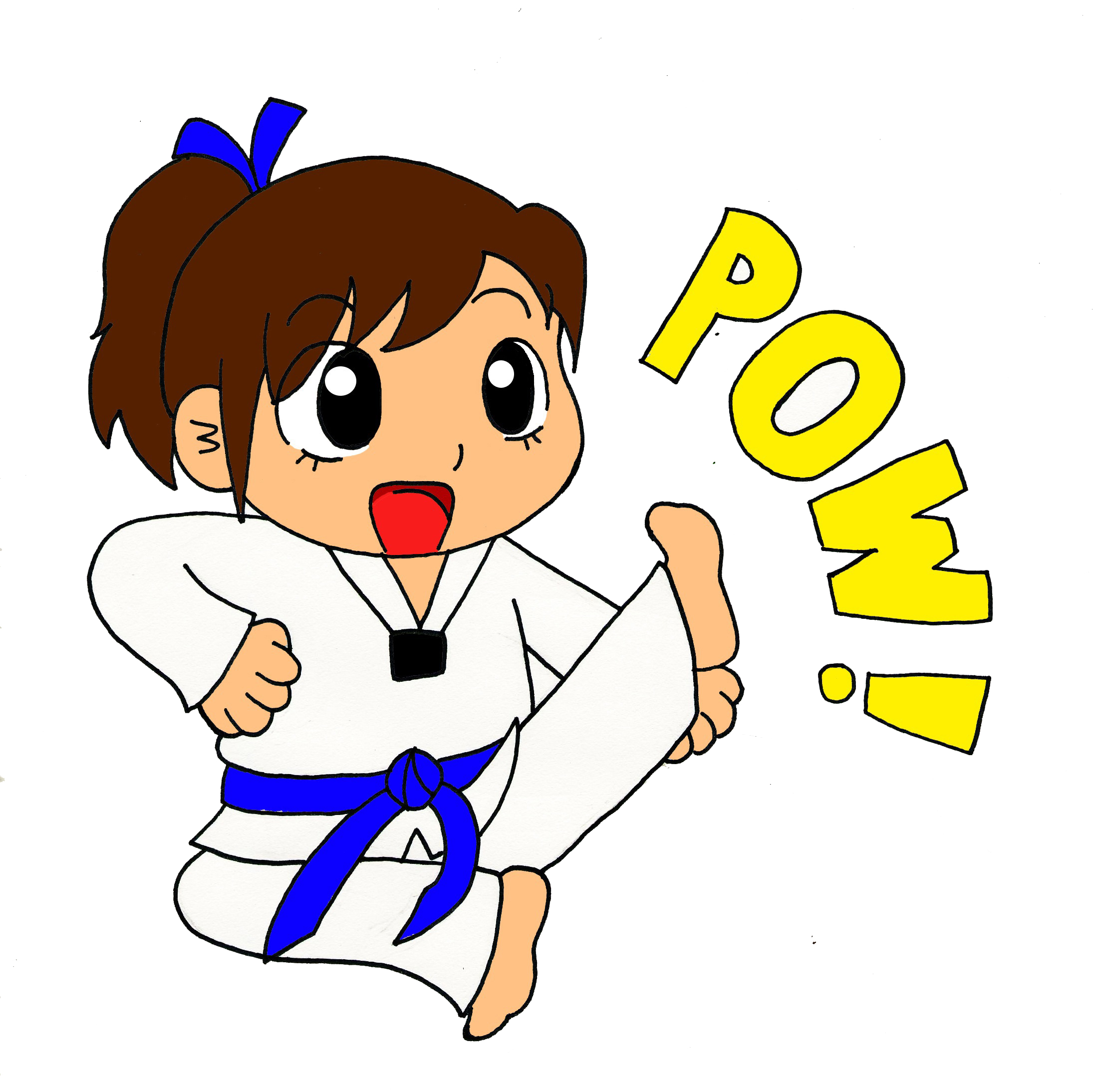 Tae Kwon Do Clipart.
