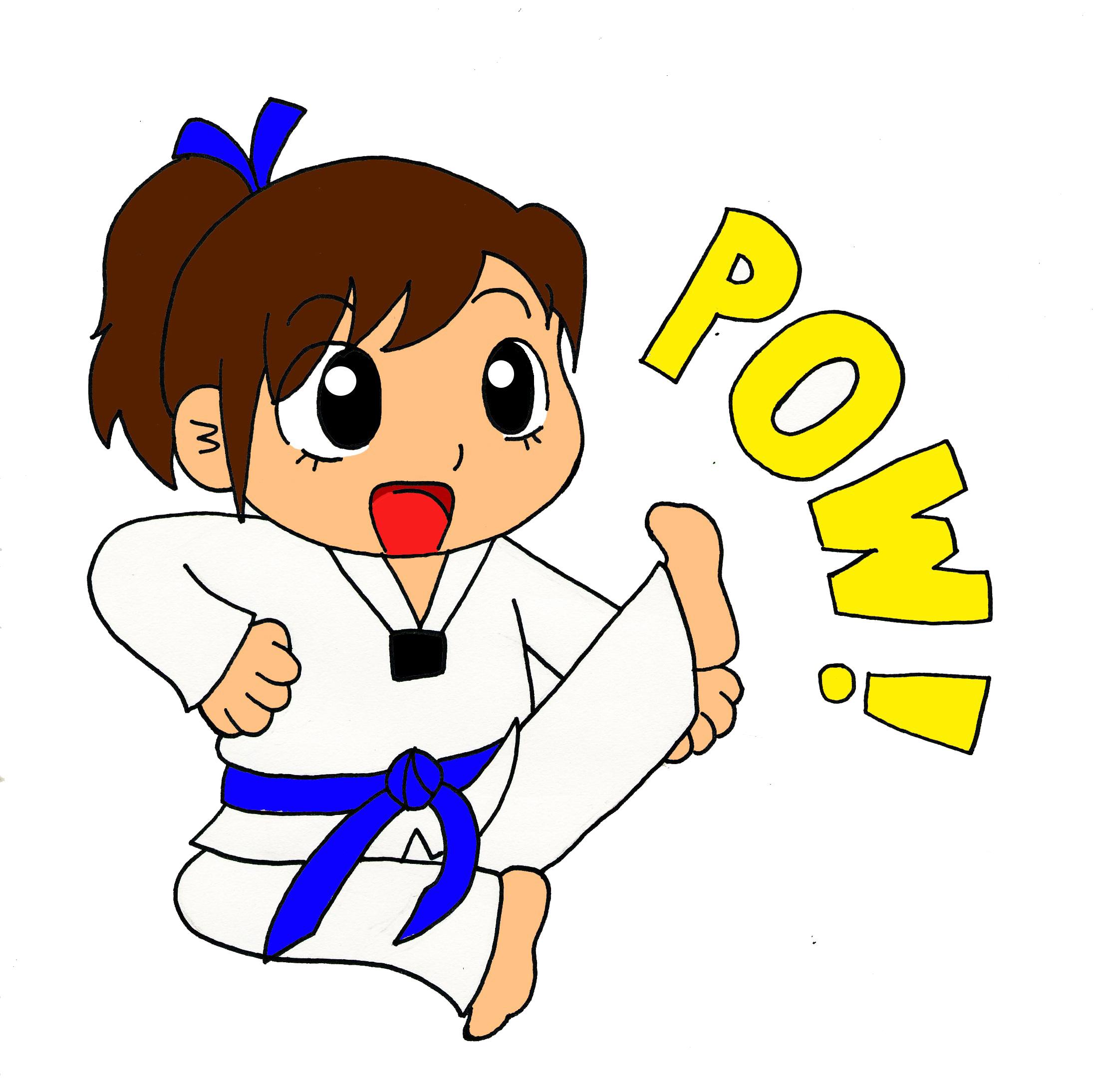 Tae Kwon Do Clipart.