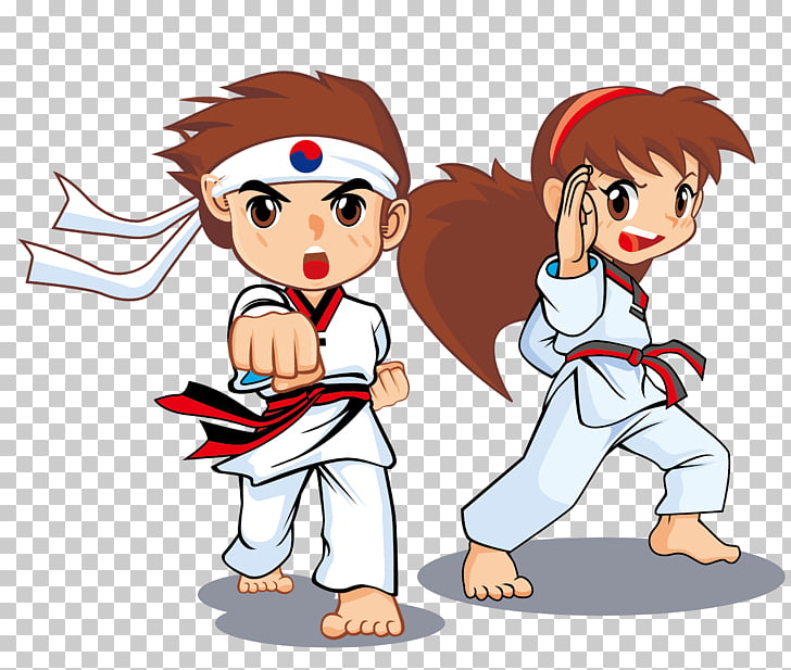 Taekwondo Martial arts Icon, Taekwondo game poster, boy and.