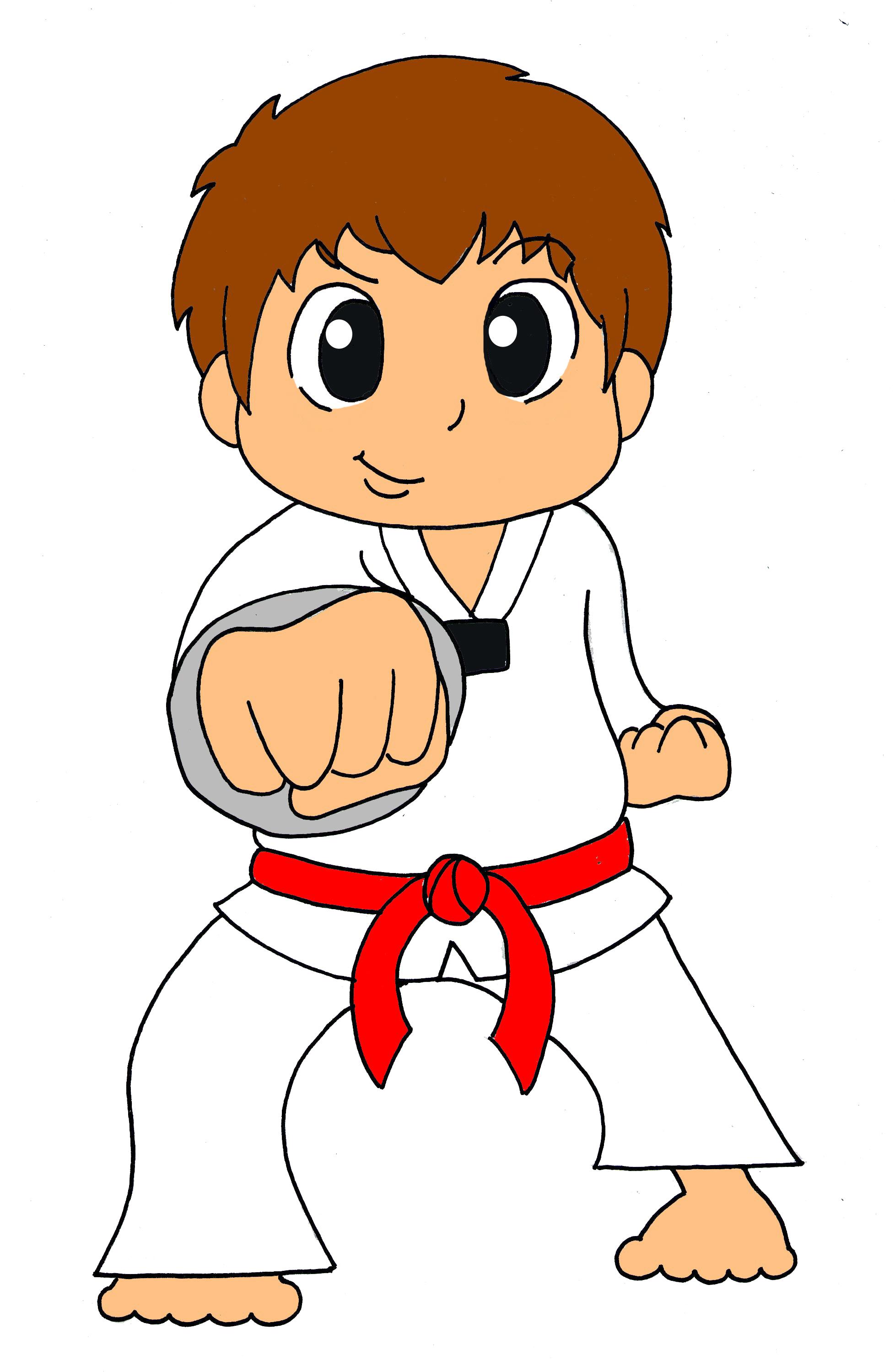 Free Taekwondo Clipart.