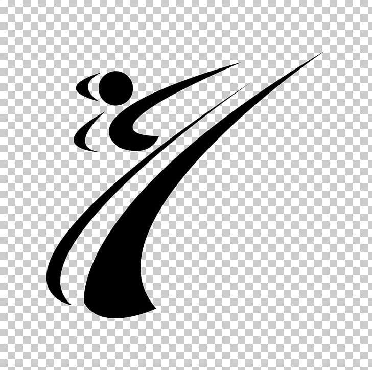 Martial Arts Karate Taekwondo Logo PNG, Clipart, Art, Black.