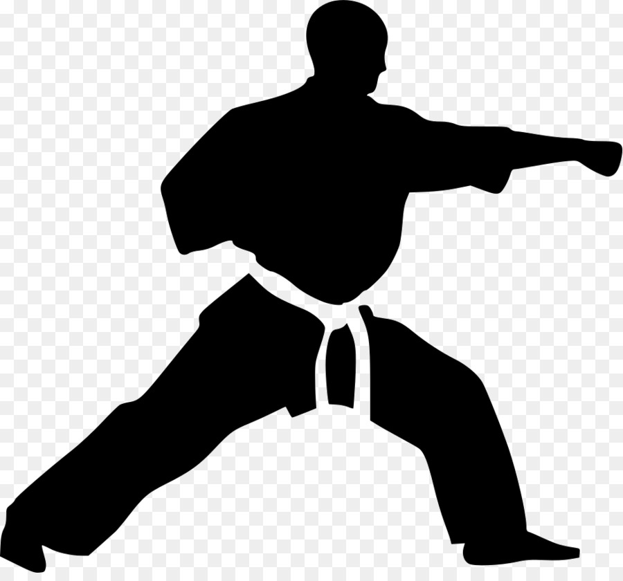 Taekwondo Cartoon clipart.