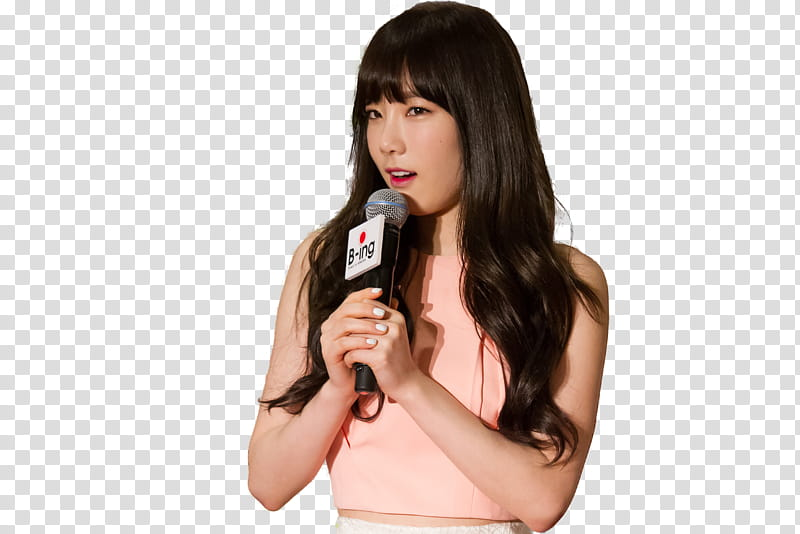 Taeyeon SNSD transparent background PNG clipart.