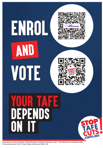 Safeguard TAFE when you vote :: New South Wales Teachers.