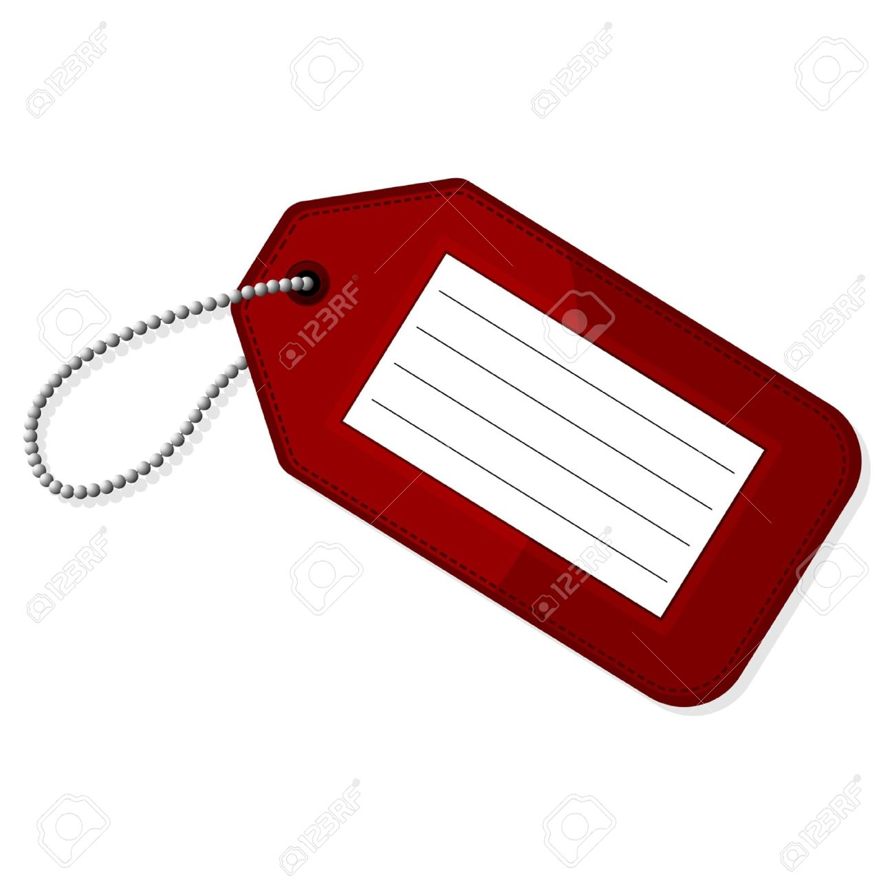 Luggage tag clipart 6 » Clipart Station.
