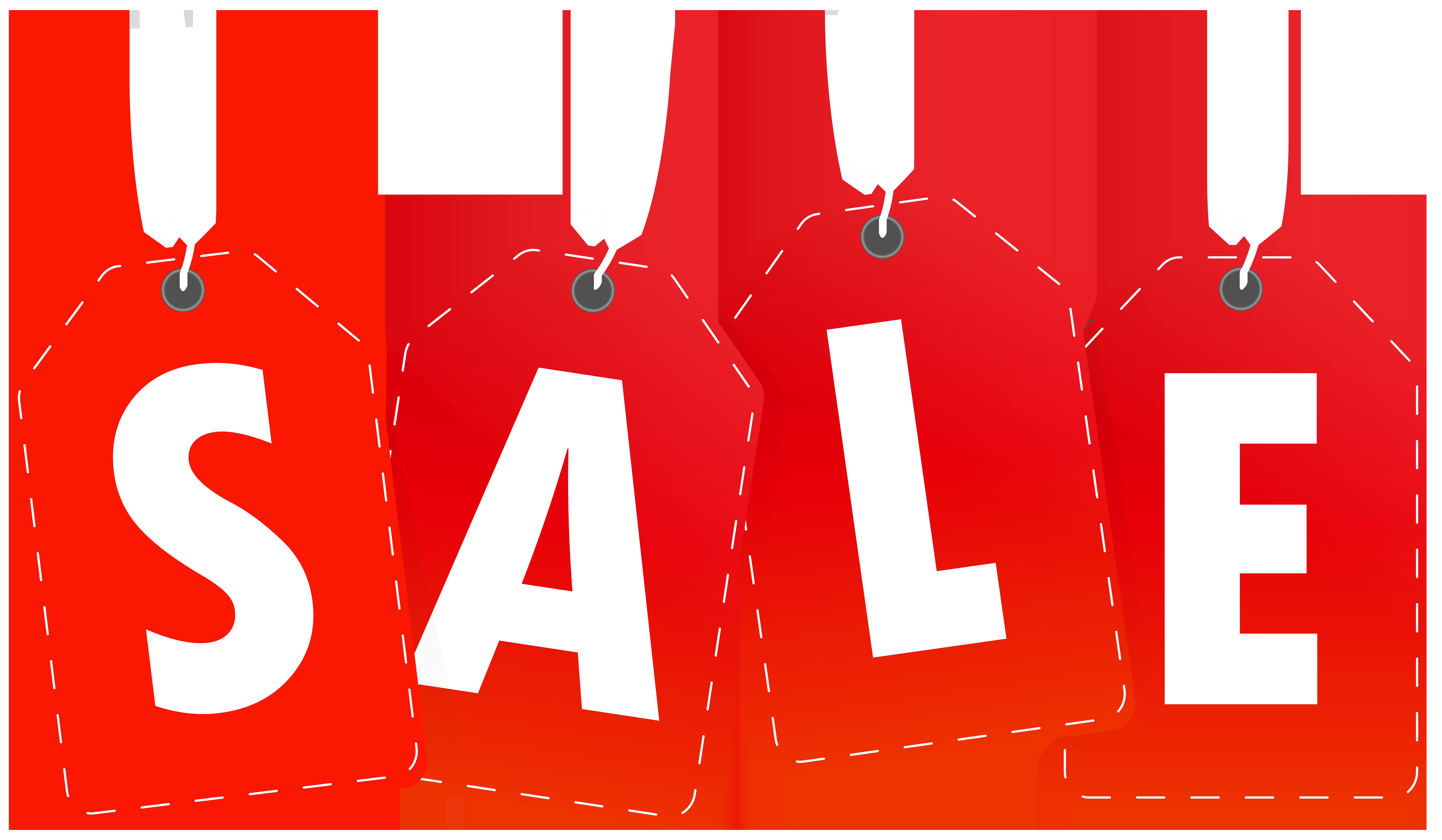 Sale Tags PNG Clip Art Image.