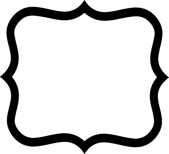 Fancy Tag Template Png Vector, Clipart, PSD.