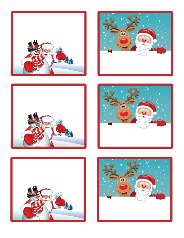 1000+ ideas about Printable Christmas Gift Tags on Pinterest.
