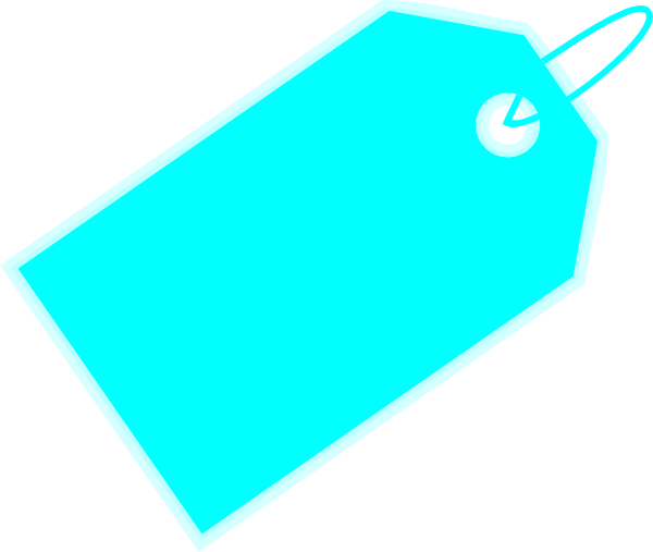 Blank Gift Tag Clipart.