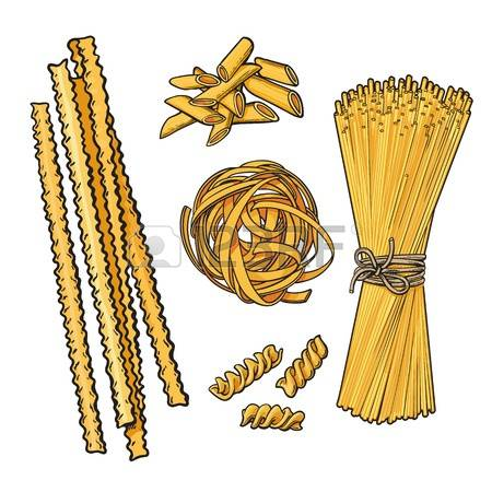 5,229 Italian Pasta Stock Vector Illustration And Royalty Free.