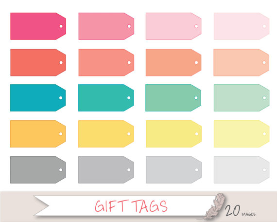 clipart gift tags.