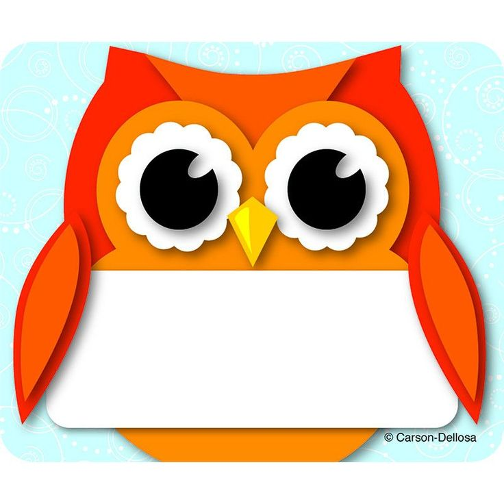 17 Best ideas about Owl Name Tags on Pinterest.
