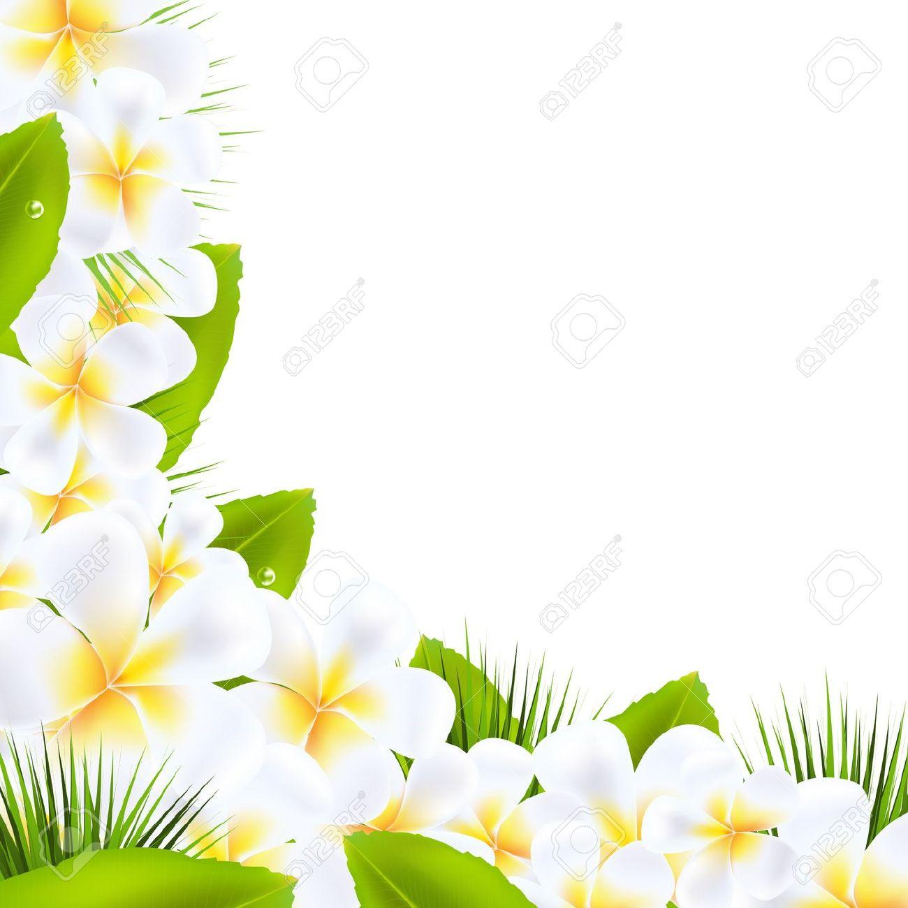 Tahiti Flower Clipart.