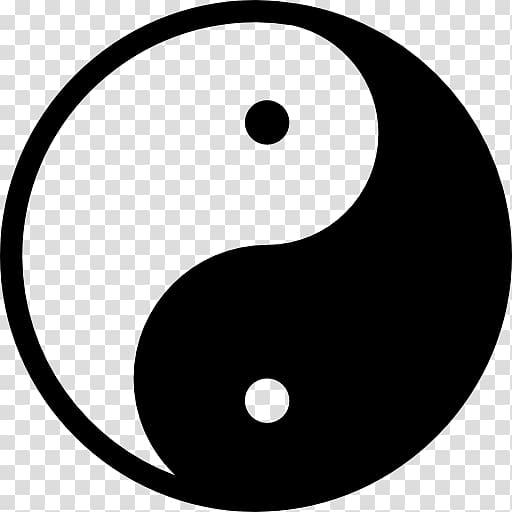 Yin and yang Symbol Traditional Chinese medicine Taijitu Tai.