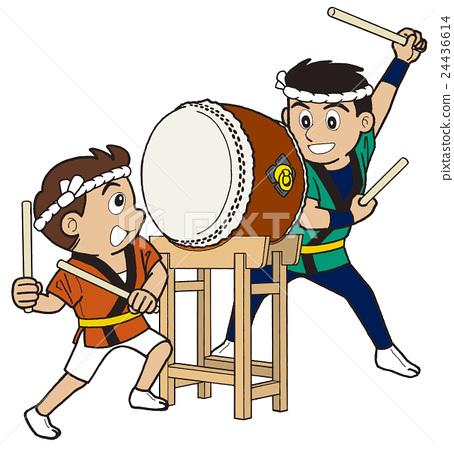 Festival drum drum EPS.