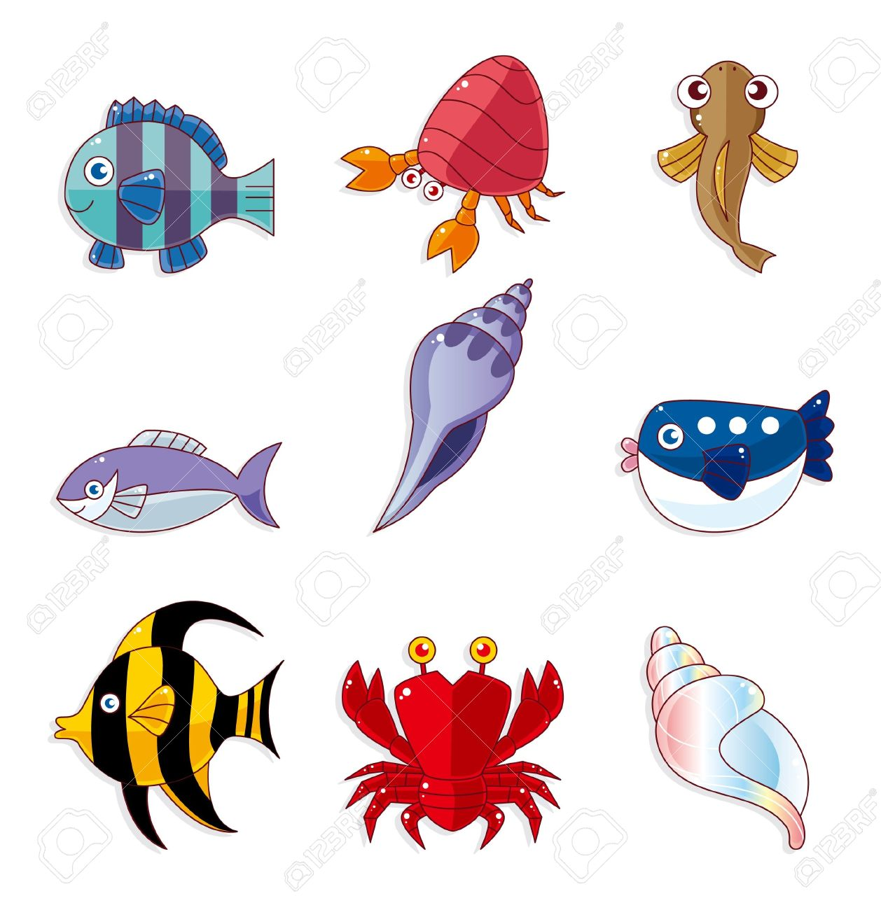 Tail fin clipart #10