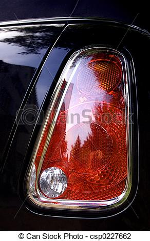 Stock Photo of Tail Light.
