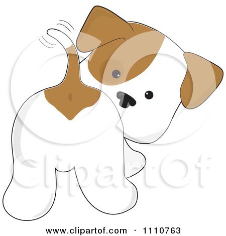 Cute Cartoon Dogs Clip Art.