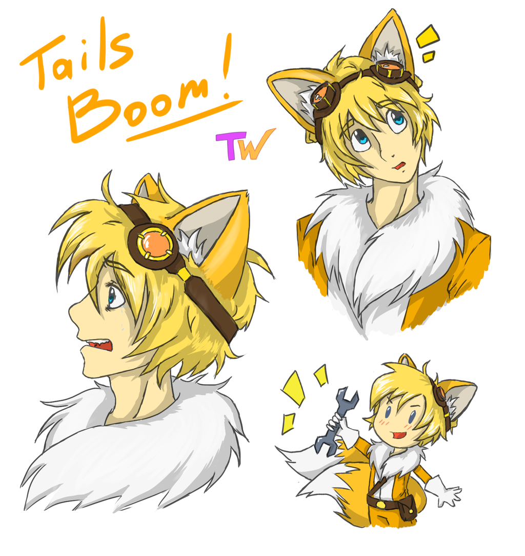 Tails on Human.
