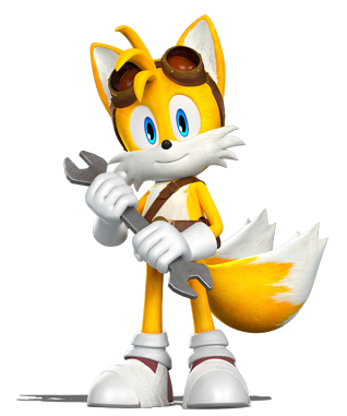 "Miles ""Tails"" Prower (Sonic Boom)."
