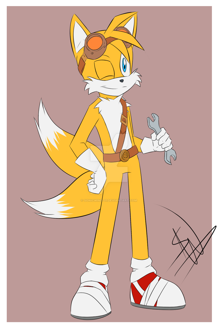 Sonic Boom: Tails by SonicWind.