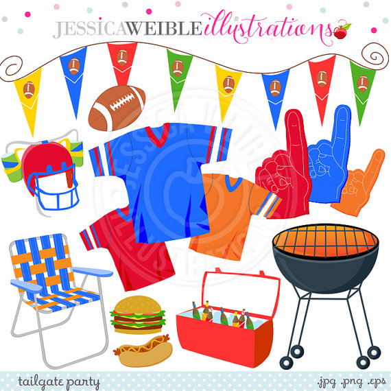 Tailgate Party Clipart.