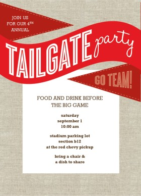 Tailgate Party Free Clipart.