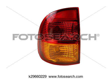 Stock Photograph of rear taillight k29660229.