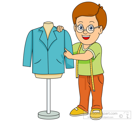 Tailor clipart images.