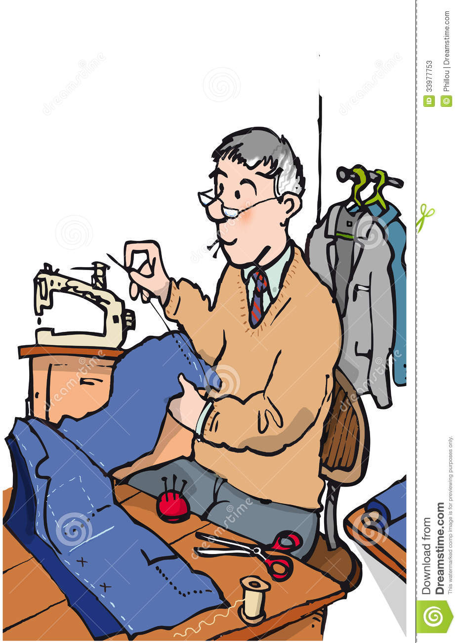 Tailor clipart #10