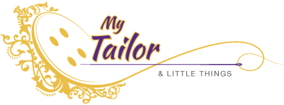 ladies tailor logo design.