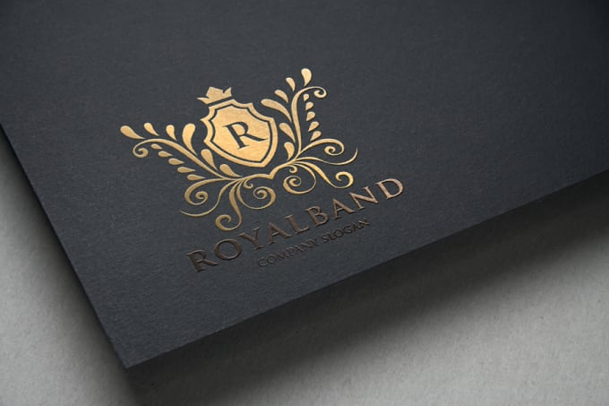 design a heraldic and luxury logo for $60.