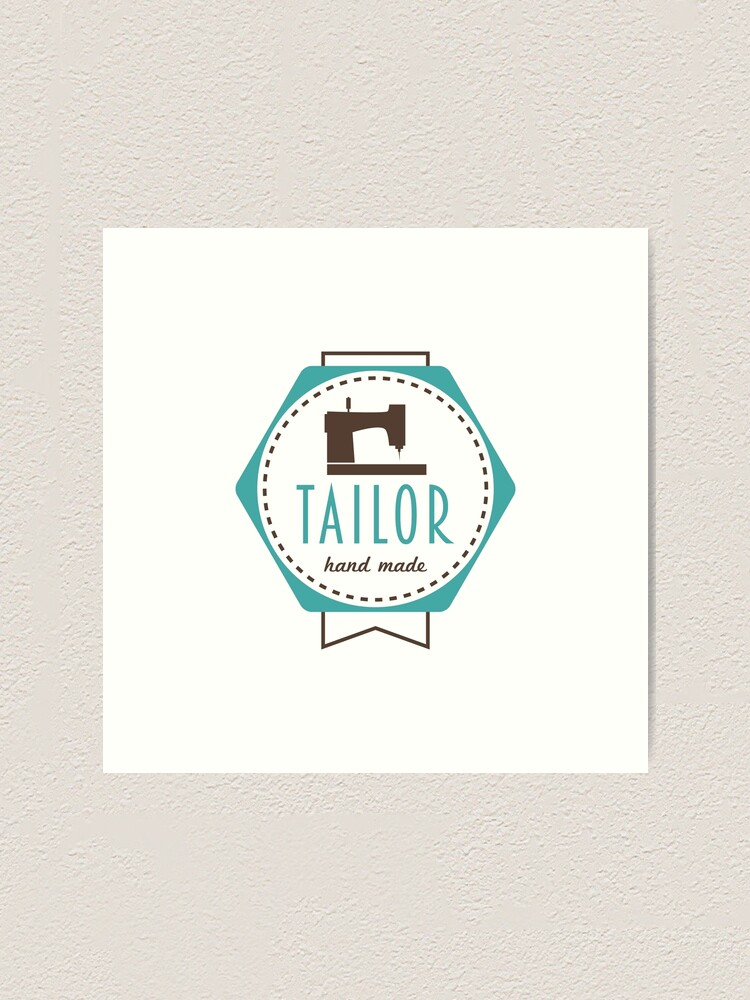 Tailor Badge Hand Made Logo.