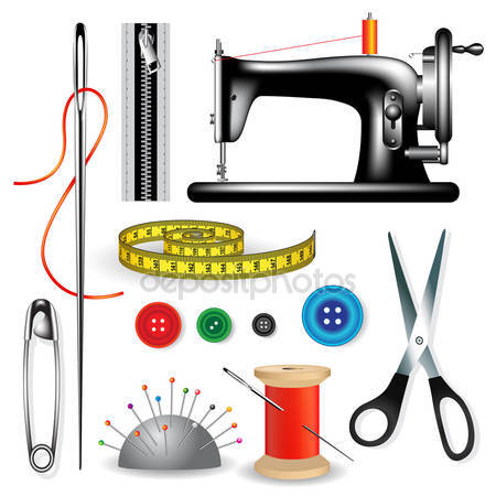 Tailor tools Stock Vectors, Royalty Free Tailor tools.
