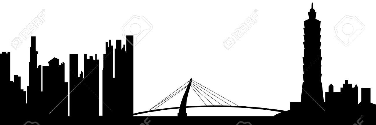 Taipei Skyline Royalty Free Cliparts, Vectors, And Stock.