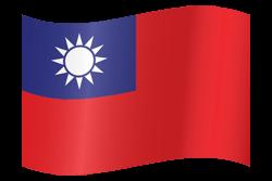 Taiwan flag clipart.