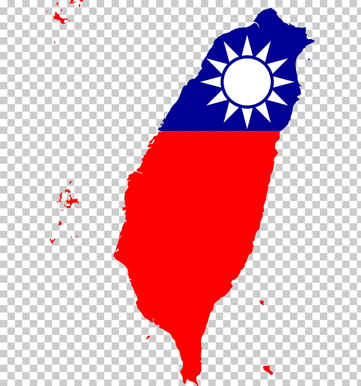 Taiwan Map Flag of the Republic of China National flag.