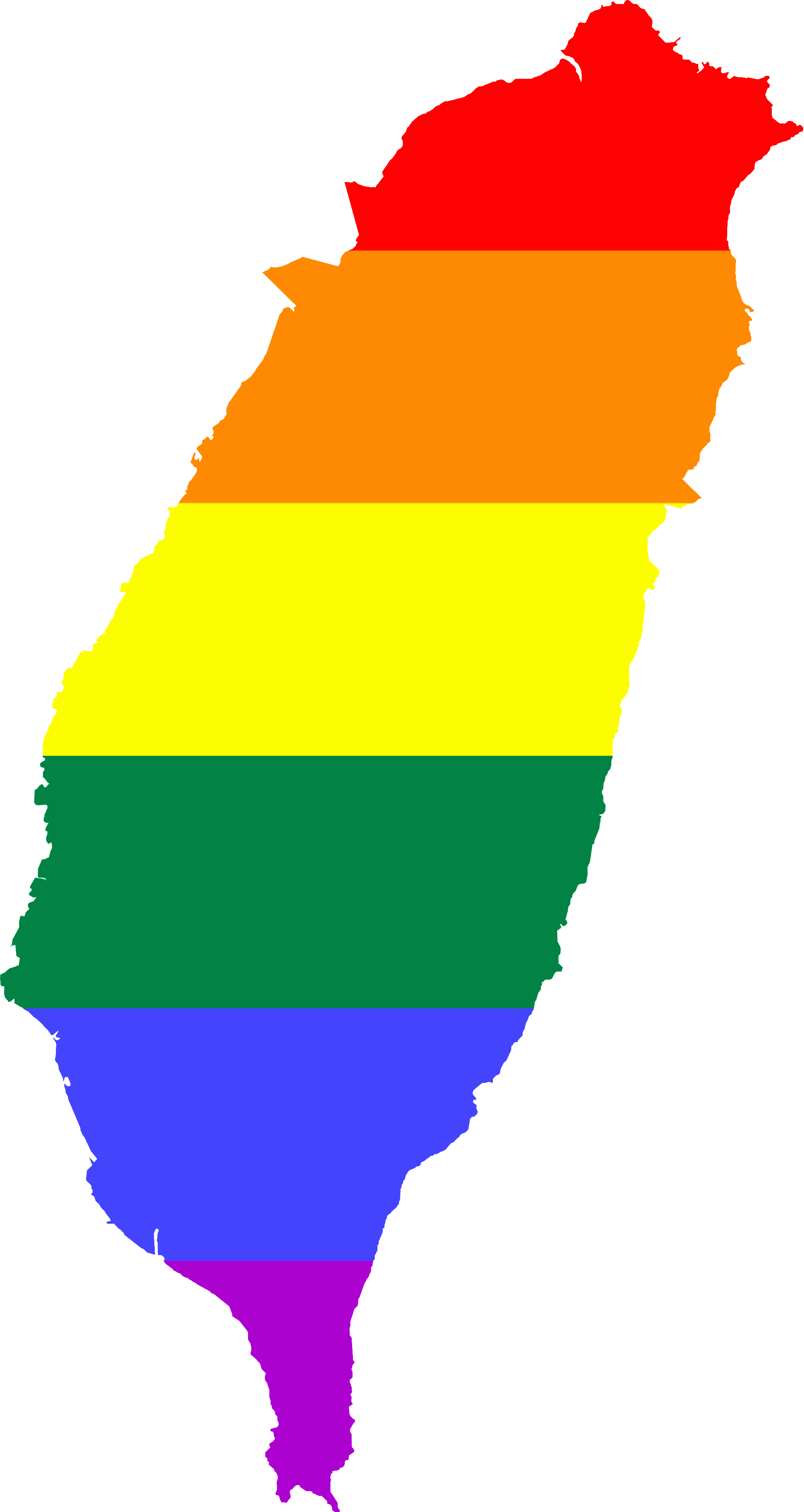 File:LGBT Flag map of Taiwan (ROC).png.