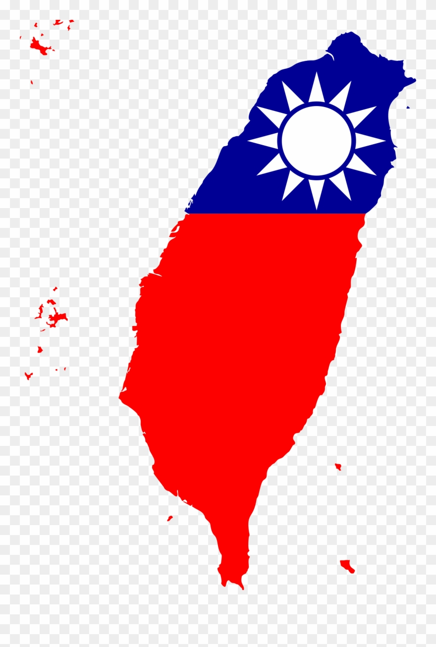 This Free Icons Png Design Of Taiwan Map Flag Clipart.