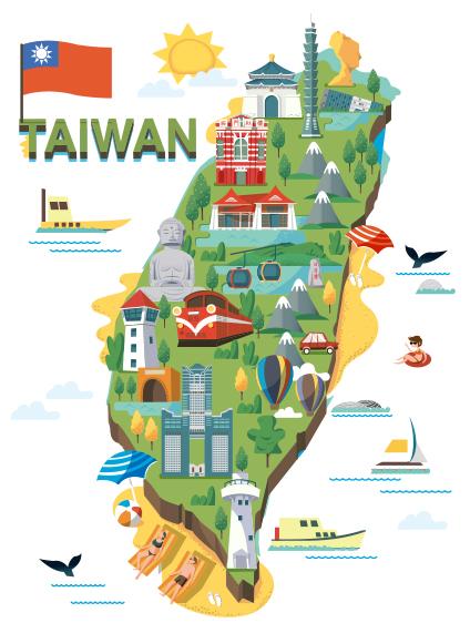 Study in Taiwan Learning plus Adventure.