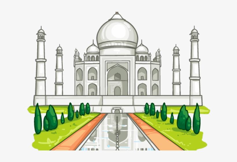 Taj Mahal Clipart Clip Art.