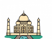 The best free Taj mahal clipart images. Download from 41.