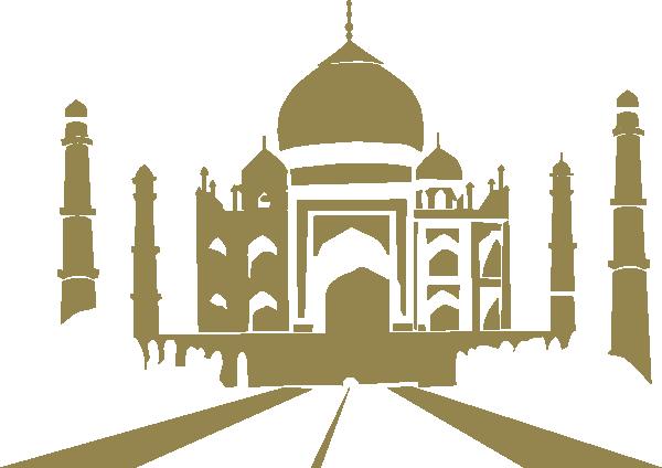 Taj Mahal Roti Prata Clip Art at Clker.com.