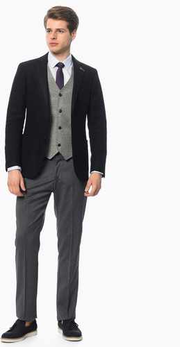 George Hogg Erkek Takım Elbise Siyah.