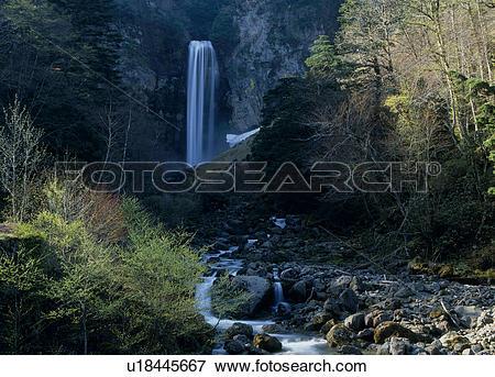 Picture of Hirayu Great Falls, Takayama, Gifu, Japan u18445667.