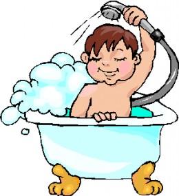 Bath Daily Clipart.