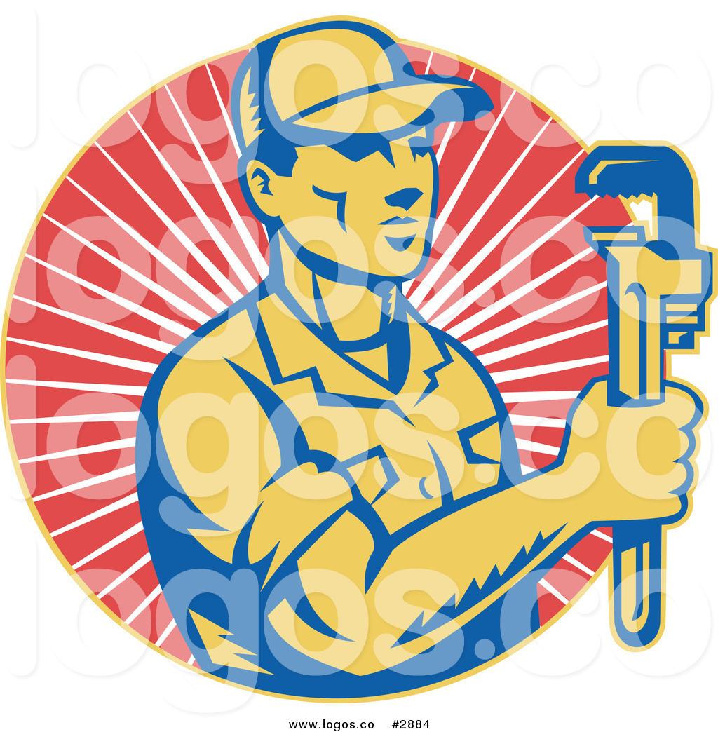 Plumbing Logos Clipart.