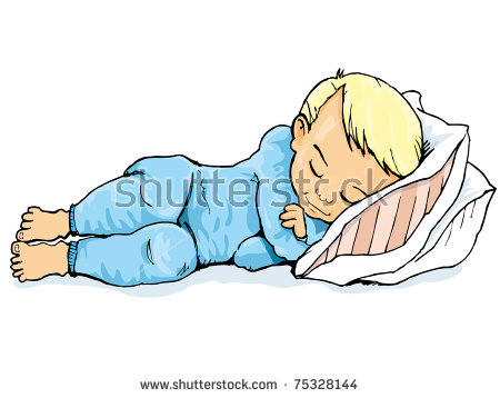 Bedtime Boy Stock Images, Royalty.