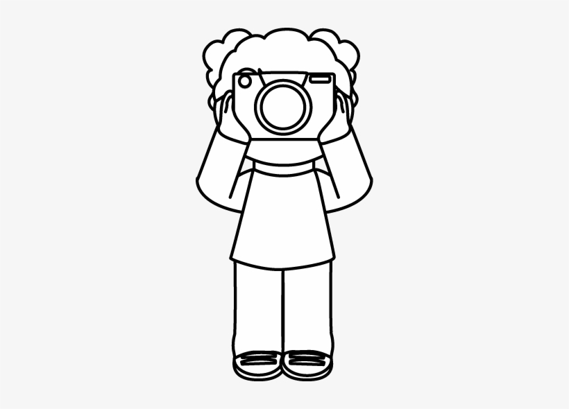 Camera Clipart Black And White Free Clipart.